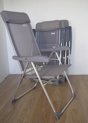 Крісло розкладне/Стілець розкладний для відпочинку , алюмінієвий