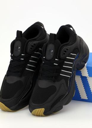 👟 мужские кроссовки adidas consortium x naked magmur runner (а...