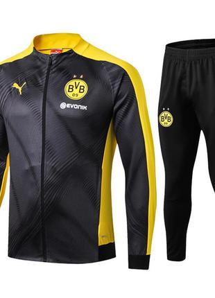 Детский тренировочный костюм для футбола боруссия дортмунд jac...