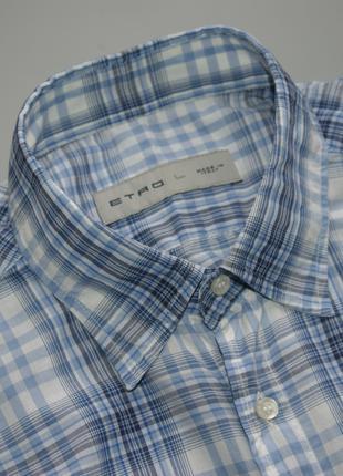 Etro Milano Итальянская Рубашка Размер L