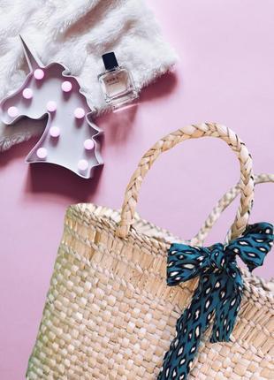 Новая плетеная соломенная сумка{корзинка} ручная работа
