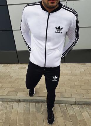 Спортивный костюм Adidas (белый верх)