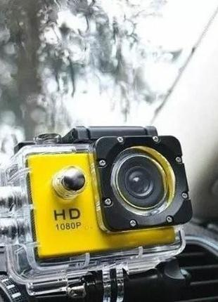 Экшн Камера Водонепроницаемая FULL HD GOPRO Конкурент Cam J400