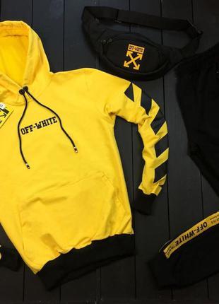 Спортивный костюм на лето (желтый)