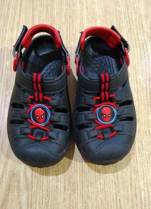 Кроксы spider-man детские сандали