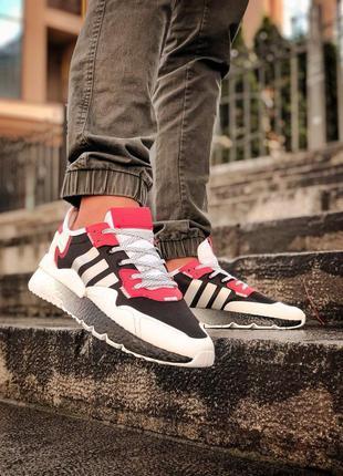 Кроссовки мужские, рефлектив adidas nite jogger