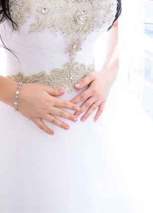 Свадебное платье «принцессы»