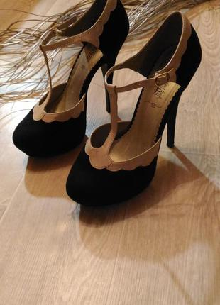 Бомбезные туфли new look , размер 40, обмен