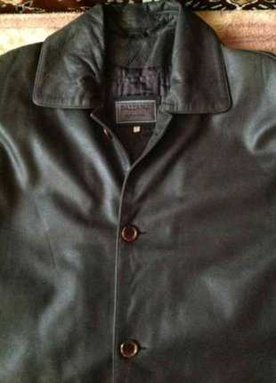 Мужская кожаная куртка - 52-54 размер (Италия, новая)