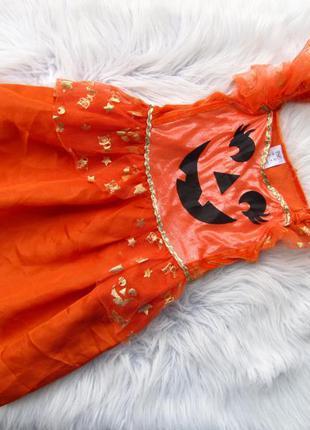 Стильное карнавальное нарядное платье f&f halloween