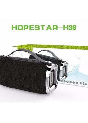 Портативная Мощная стерео колонка HOPESTAR H36 Оригинал
