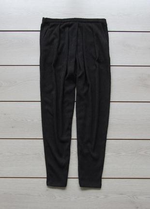 Жатые брюки на резинке с защипами от h&m