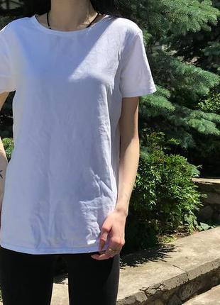 Женская базовая футболка primark ( примарк м-лрр )