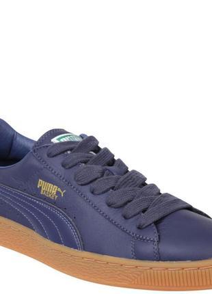 Puma basket suede clyde sneaker обувь осень весна лето кожа