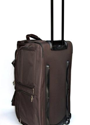 6056 - Вместительная дорожная сумка на колесах ( 56см. )