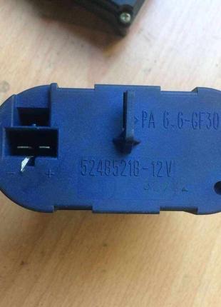 Б/у нагреватель резистор реостат,7701206541 52485218