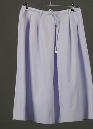 Berkertex. лавандового цвета юбка на резинке и завязочках. пол...