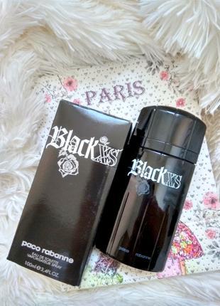 Paco Rabanne Black XS men_Оригинал EDT_7 мл затест туал.вода