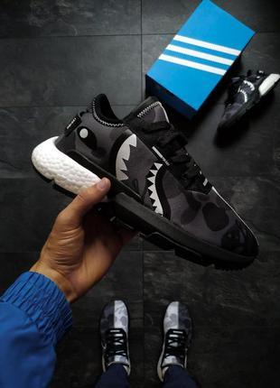 Кроссовки мужские adidas pod s3.1 bape x neighborhood