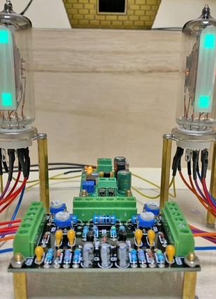 Двухканальный индикатор 6E2 низкого напряжения, DC12V