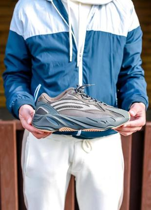 Кроссовки мужские рефлектив adidas yeezy boost 700 v2 geode