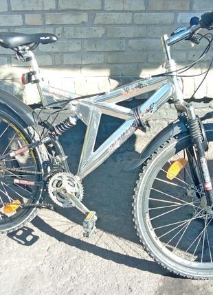 """Велосипед горный HURRICANE DUAL SP 26"""" Алюминий"""