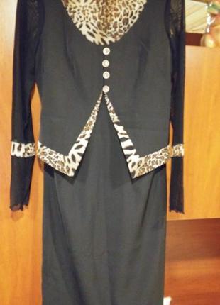 Платье миди размер 44/S