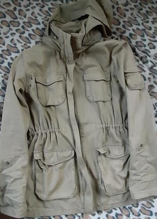 Парка милитари куртка
