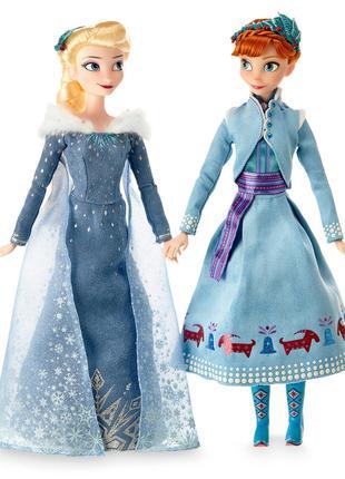 Набор кукол Анна и Эльза Зима, Холодное сердце 2