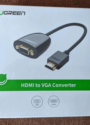 Конвертор Ugreen HDMI to VGA