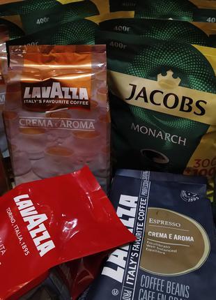 Кофе: Якобс (Jacobs Monarch 400грамм) Lavazza