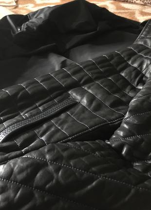 Куртка кожаная настоящая