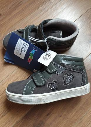 Lupilu демисезонные ботинки на флисе на липучках 30 р.
