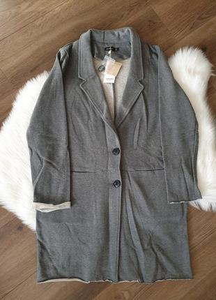 Stradivarius пальто трикотажное кардиган, пиджак жакет м 38 р