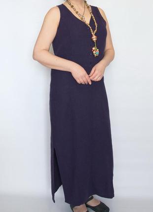Длинное платье castaluna, лен