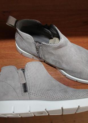 Ecco bella оригинал кожаные ботинки