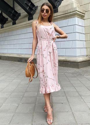 Платье завязочки