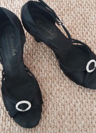 Танцевальные туфли, 41 размер, каблук -7 см