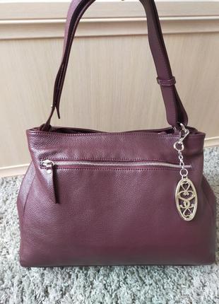 Шикарная большая кожаная сумка cotswold