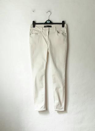 Стрейчевые брюки джинсы скинни