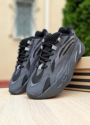 Кроссовки мужские, рефлектив adidas yeezy 700 v2