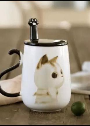 Чашка с кошечкой