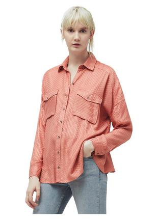 Рубашка женская вискоза р. s mango