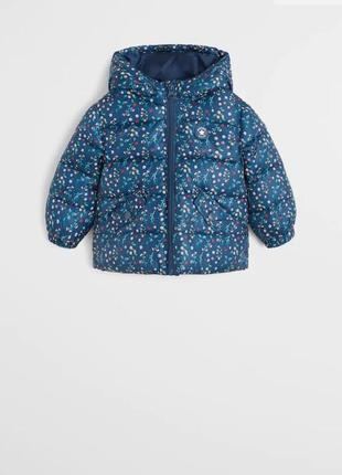 Новая куртка mango на 3-4года