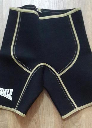 Утягивающие шорты для похудения. lonsdale. размер s ( 36 ).