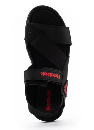 Новые мужские сандали кожаные летние черные