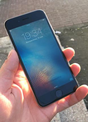 Apple iPhone 6 128Gb Space Gray Neverlock Оригинал бу