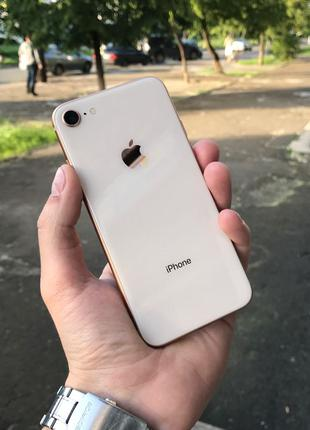 Apple iPhone 8 64Gb Gold Neverlock оригинал БУ