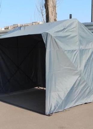 Торговая мобильная палатка Кабриолет (установка за 1 минуту)