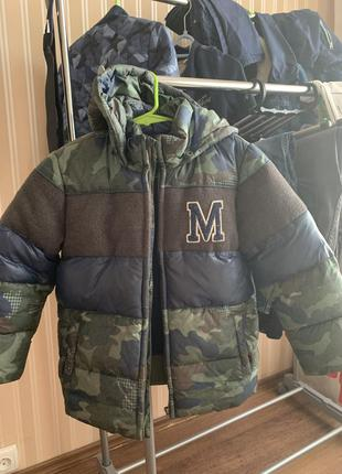 Зимняя куртка для мальчика mayoral 6 лет